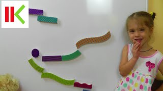 Магнитные дорожки Learning Resources Tumble Trax Magnetic Marble Run