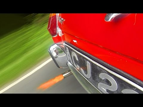 MGB exhaust & overrun Sound