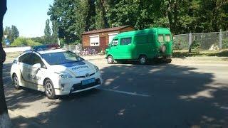 Новый полицейский патруль на улицах Киева