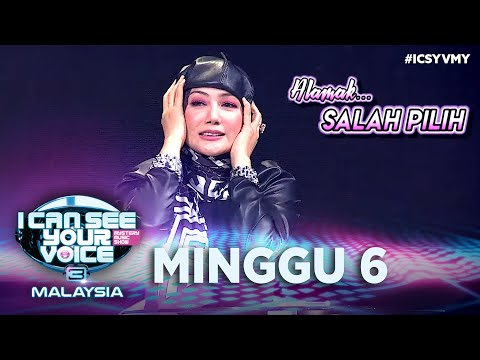 I Can See Your Voice Malaysia (Musim 3) - Minggu 6