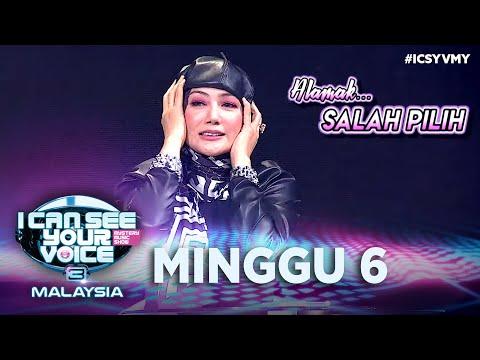 [FULL] I Can See Your Voice Malaysia (Musim Ke 3) Minggu 6 - Erra Fazira | #ICSYVMY