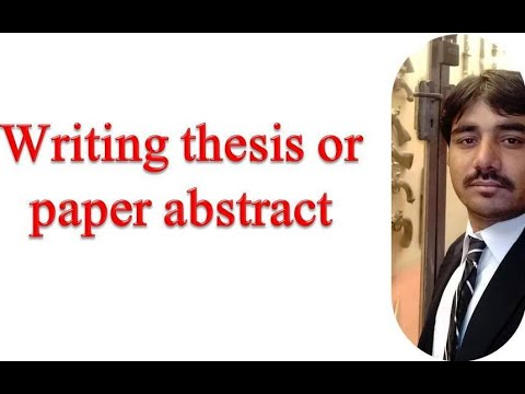 How To Write The Abstract For Dissertation, Thesis And Research Articles