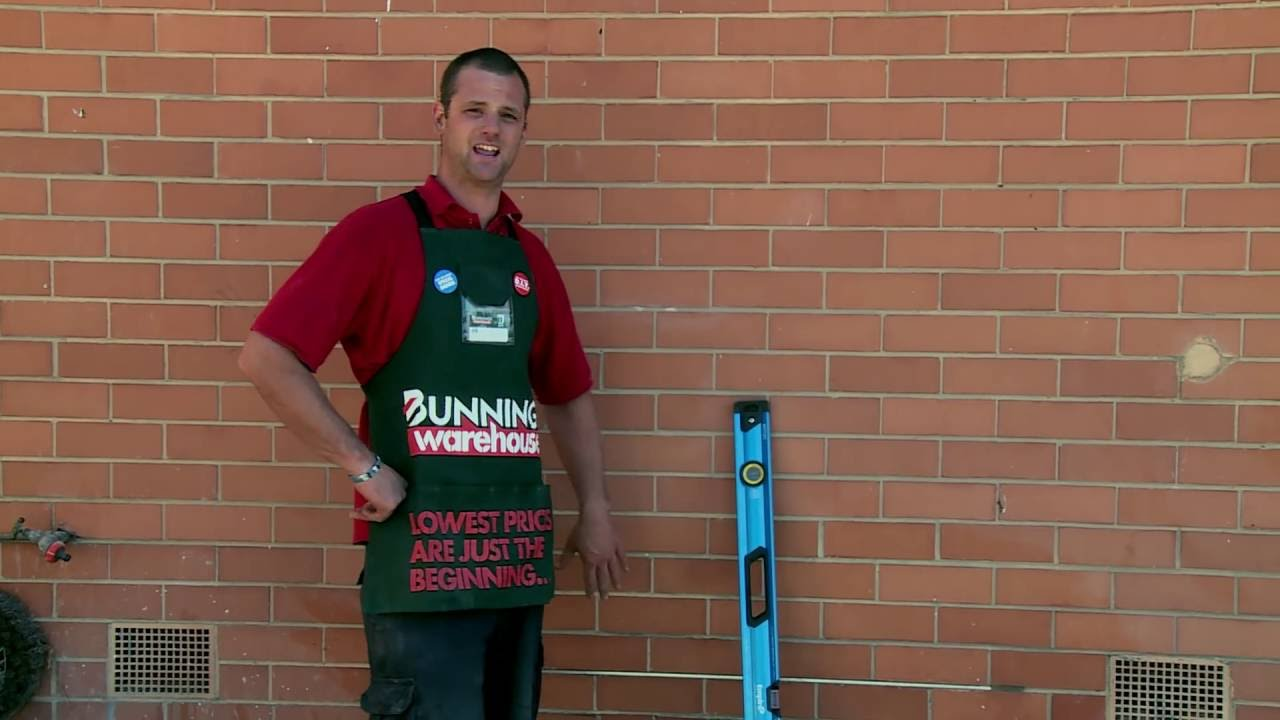 Elegant How To Cut A Brick Wall Opening   DIY At Bunnings   YouTube