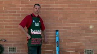 How To Cut A Brick Wall Opening - DIY At Bunnings