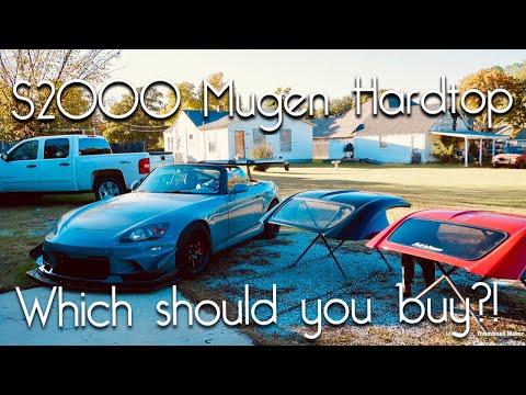 BEST HONDA S2000 HARDTOP? Authentic MUGEN vs. Forbidden USA Hardtop! Review&Comparison