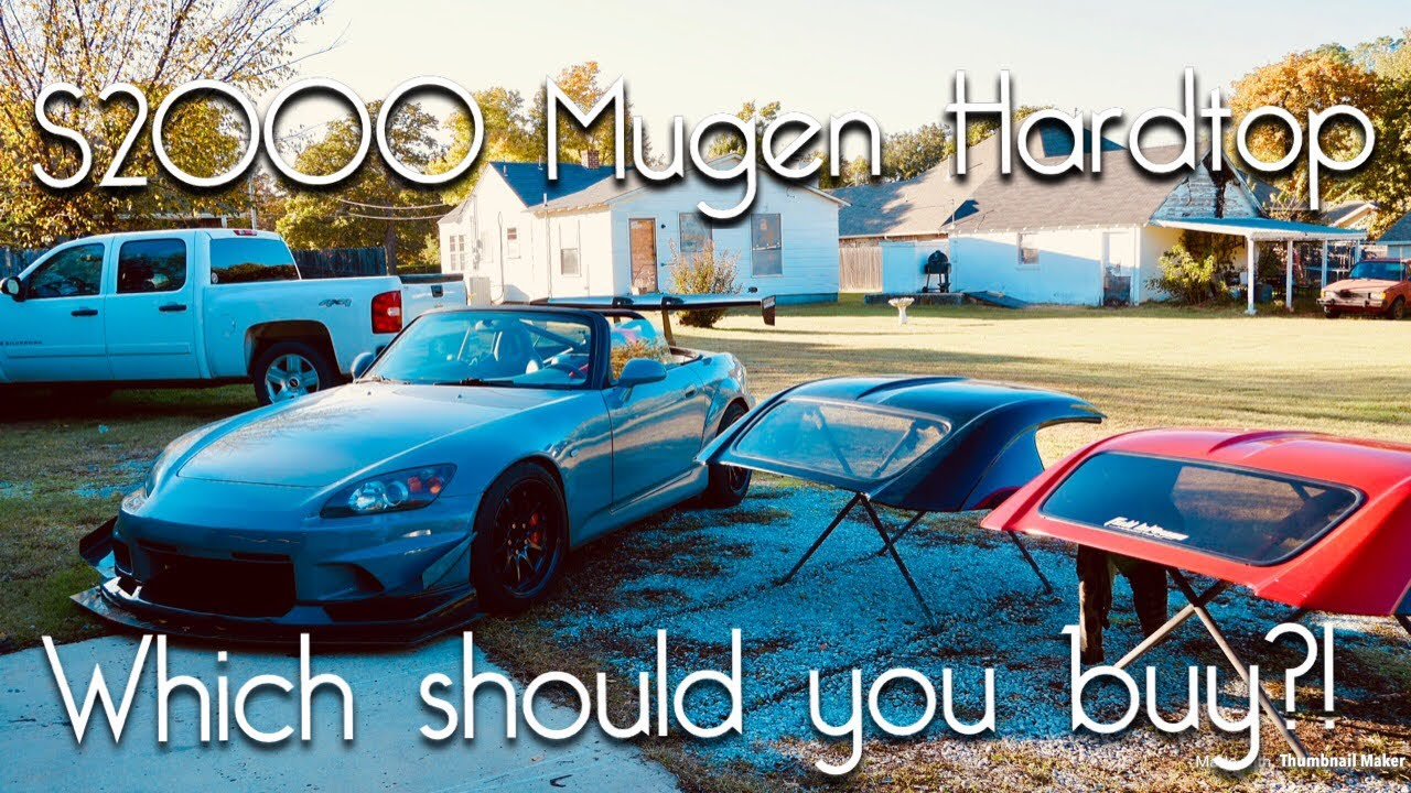 BEST HONDA S2000 HARDTOP? Authentic MUGEN vs  Forbidden USA Hardtop!  Review&Comparison