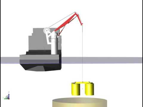 Simulation Offshore Crane extension14a with SimulationX