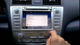 Обзор Штатной магнитолы RoadRover для автомобиля Toyota Camry V40 Android