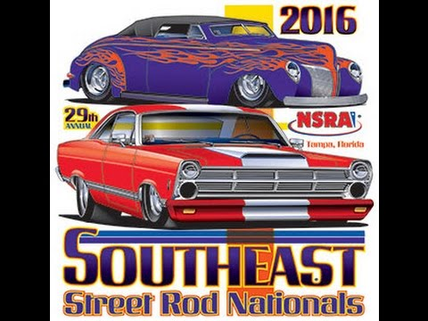 Southeast Street Rod Nationals Tampa NSRA Car Show YouTube - Car show tampa fairgrounds