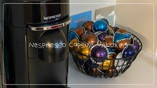네스프레소 버츄오 플러스 캡슐 언박싱: 에스프레소와 마…