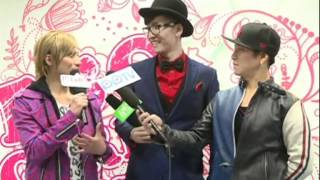 w-inds. TGC_2012 backstage interview
