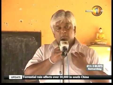 SL Cricket has become bankrupt today - Arjuna Ranatunga
