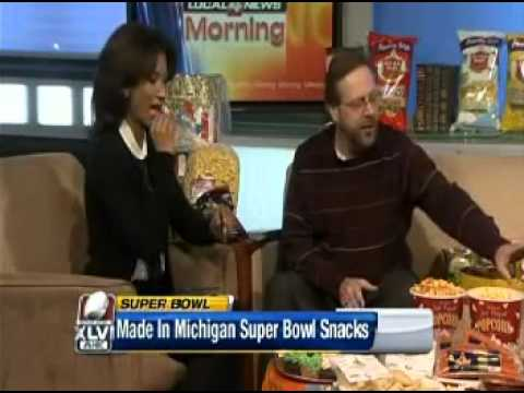 Dearborn Brand on WDIV: Made in Michigan Super Bowl Snacks XLV