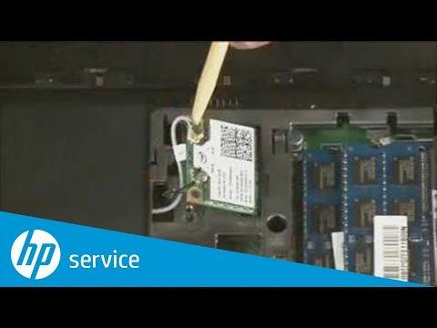 Removing And Replacing Wireless LAN   Pavilion G6-2000
