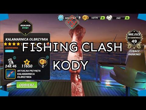 Jak wprowadzić kod podarunkowy w Fishing Clash