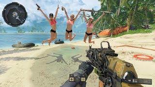 Девчонки Я ИДУ ! Call of Duty: Black Ops 4 (beta)
