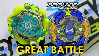 Beyblade Burst by Hasbro Wave 3 Nepstrius N2 Vs Horusood H2 Battle