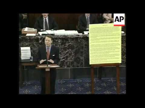 USA: PRESIDENT CLINTON IMPEACHMENT TRIAL LATEST