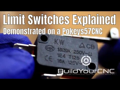 5. Limit Switches for CNC Machines Explained and Connected to the Pokeys57CNC Interface