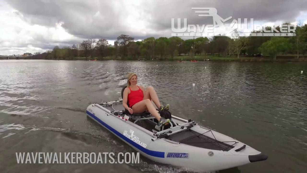 Wavewalker Boats The World 39 S Fastest Pedal Powered