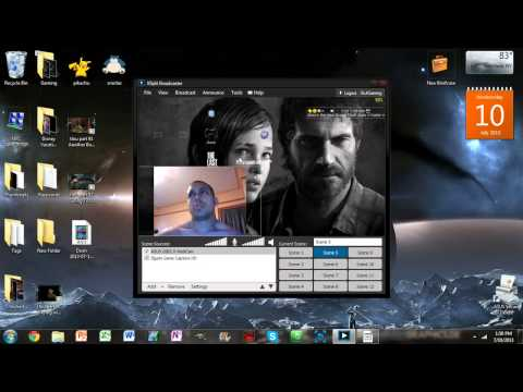 How To Record PC Gaming W/ FaceCam | No Editing Needed! | Open Broadcast Software | FunnyDog.TV
