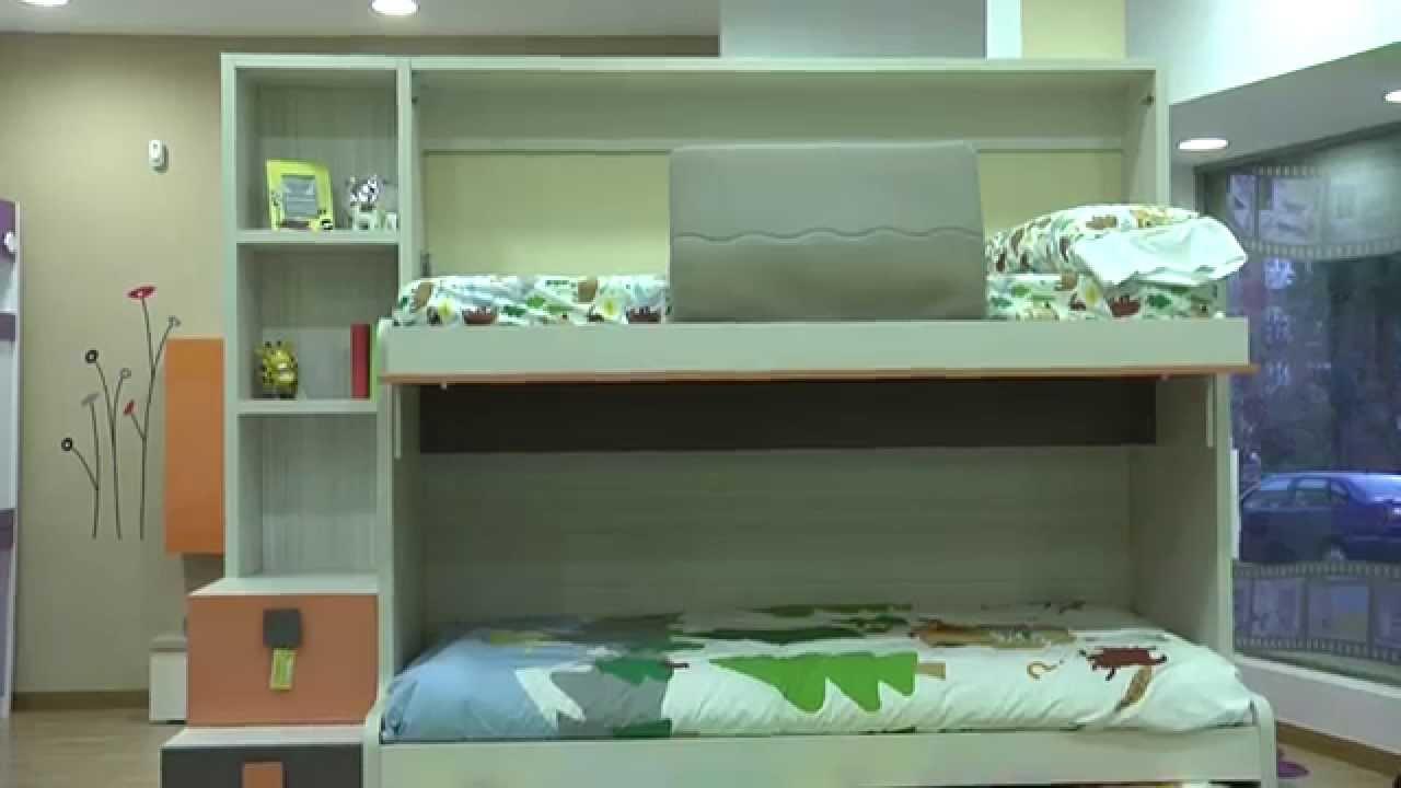 Muebles parchis como funcionan litera autoportante con - Litera con cama de matrimonio ...