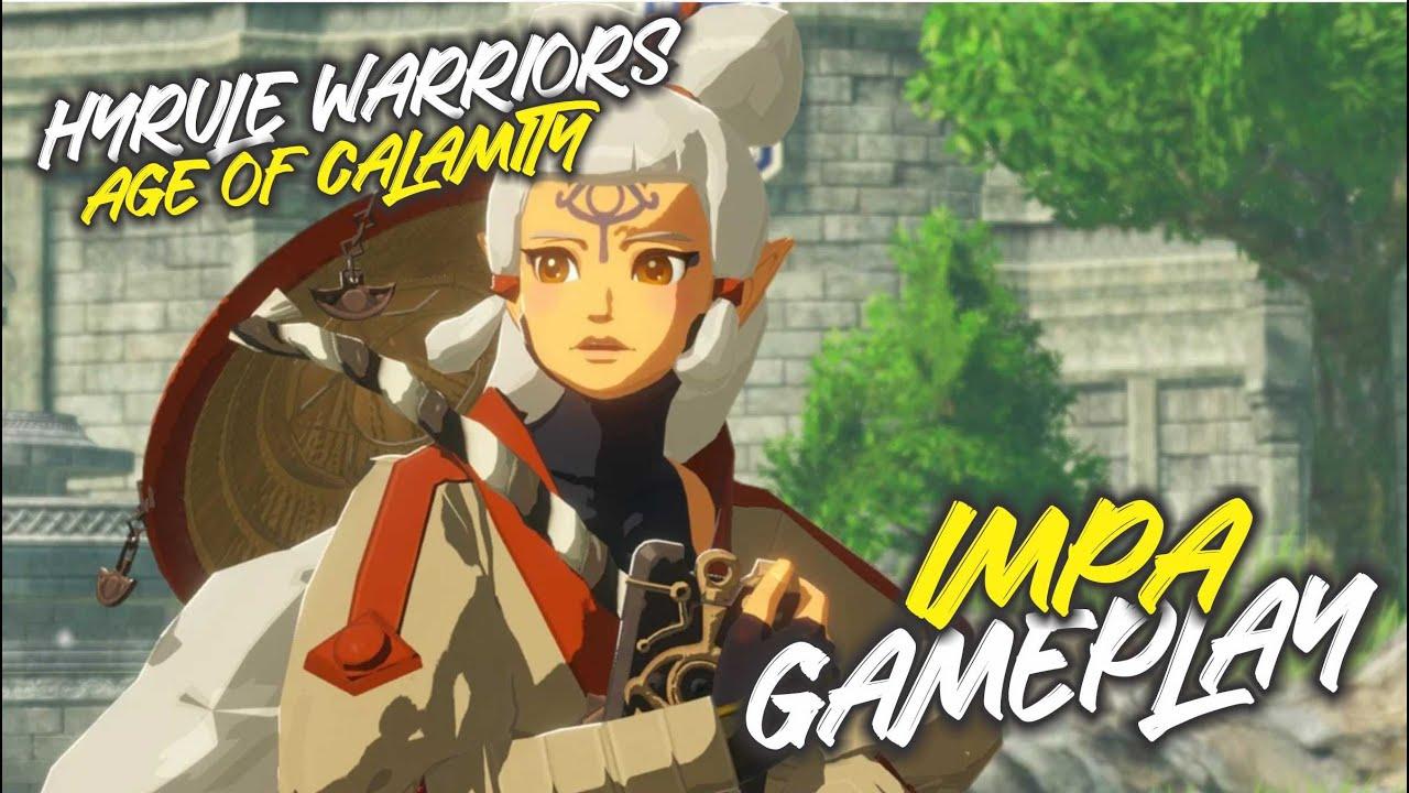 Hyrule Warriors Age Of Calamity Impa Gameplay Youtube