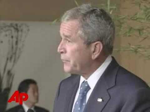 Bush Reassures Japan on North Korean Kidnappings