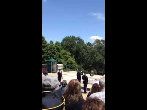 Tomb of The Unknown Soldier; Changing of the Guard (part 2)