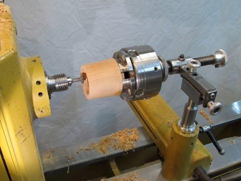 Threading Jig for Wood Threads