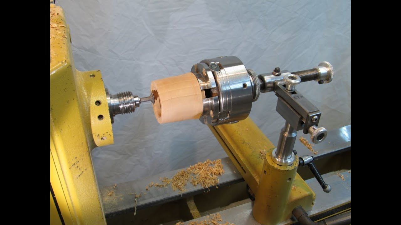 Threading Jig for Wood Threads - YouTube