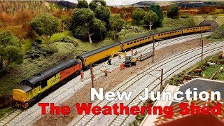 New Junction & The Weathering Shed | Custom New Measurement Train