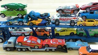 UNBOXING USED TOY CARS WHICH I BOUGHT ON EBAY TRUCK, SPORT CAR, JEEP