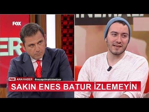 GECE 1'de SAKIN ENES BATUR İZLEMEYİN !! (yok artık)