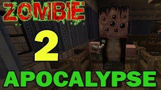 ч.02 Прохождение карты Minecraft - Zombie Apocalypse (миссия 2)