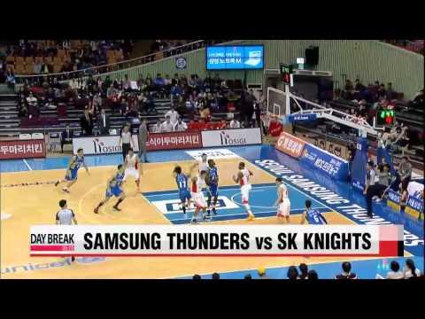 KBL, Samsung vs SK   KBL, 삼성 : SK