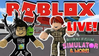⛄🌎🎮 Roblox LIVE Stream #167 | Bubble Gum Sim and MORE!!! | 🎮 🌎⛄