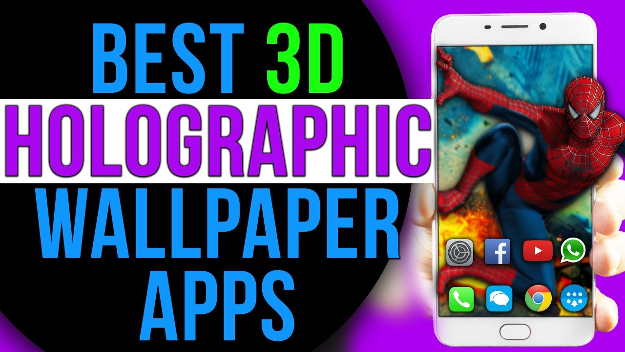 Best Amazing 3D PARALLAX HOLOGRAPHIC Live Wallpaper for Android +