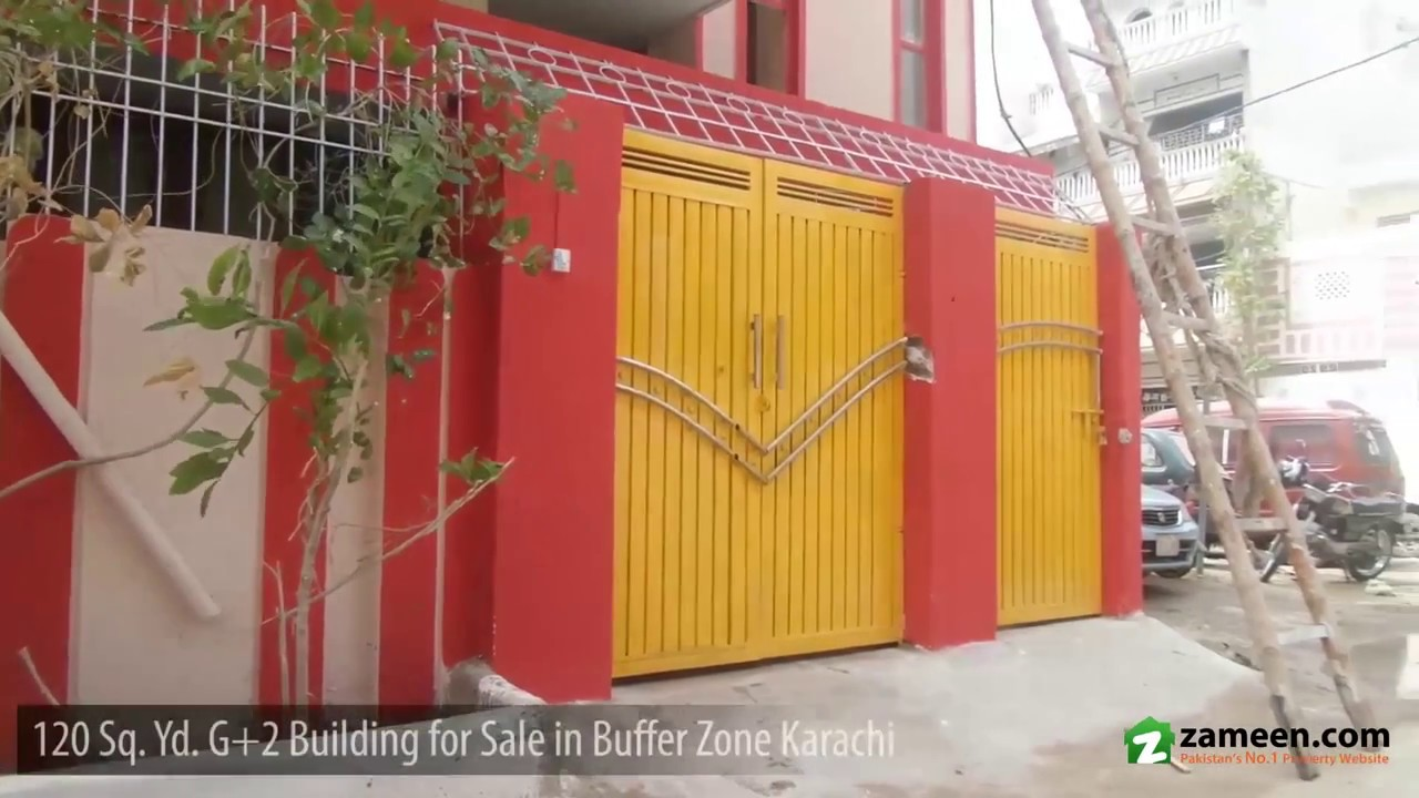 120 Sq  Yd  FURNISHED HOUSE IS AVAILABLE FOR SALE IN SECTOR 15-A/4  BUFFERZONE NORTH KARACHI