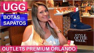 UGG Austrália Compras de BOTAS e CALÇADOS no ORLANDO Premium OUTLETS com PREÇOS nos EUA!