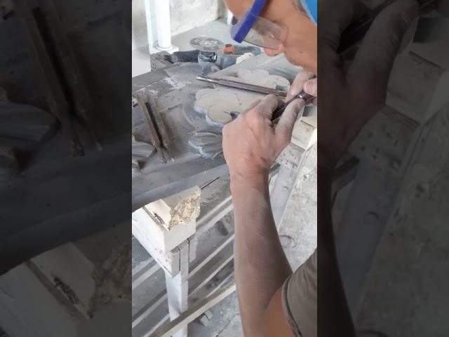 Realizzazione Caminetto eclettico in Ardesia