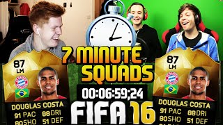FIFA 16 3 WAY 7 MINUTE SQUAD BUILDER WITH TWOSYNC!! - Insane Squad Builder!!