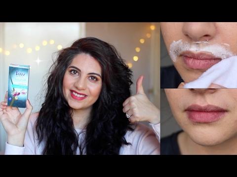 Nair Upper Lip Kit Demo & Review | BEFORE & AFTER | Natasha Summar