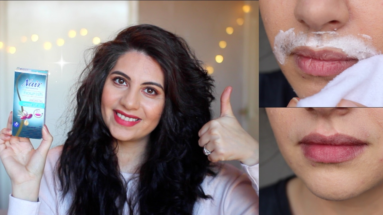 Nair Upper Lip Kit Demo Review Before After Natasha Summar