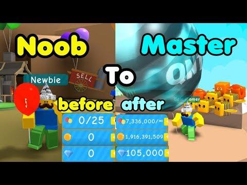 Noob To Master! 0 To 1 Billion Coins! Biggest Balloon! Unlocked All Areas! - Balloon Simulator
