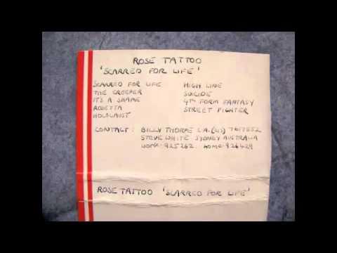 Rose Tattoo Rosetta Youtube