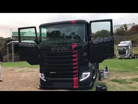 2019 (1\1 Edition) Scania R900 6X6 V8 Power Black (Kivara 900 Limited) Sound! HD