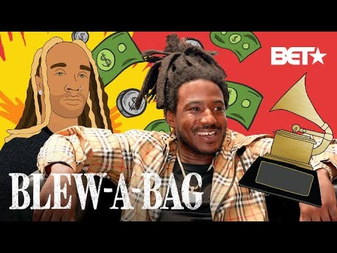 How Mozzy Went From Cleaning Toilets To Cashing $1 Million Dollar Checks | Blew A Bag
