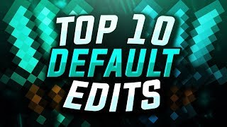 Top 10 BEST Hypixel UHC Default Edits (16x FPS)