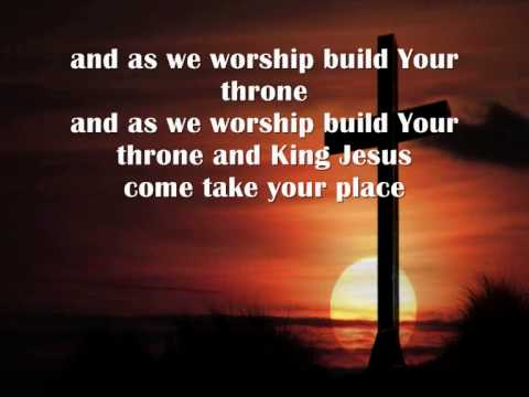 Jesus we enthrone you with lyrics